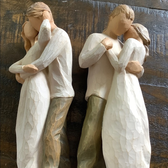 WILLOW Tree Together 2011 Promise 2003 Figurines